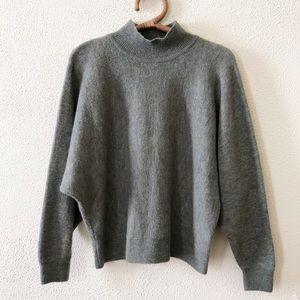H&M Multicolor Knit Mockneck Sweater S